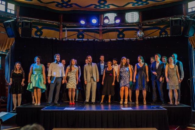 Cabaret, in the Melbourne Spiegeltent