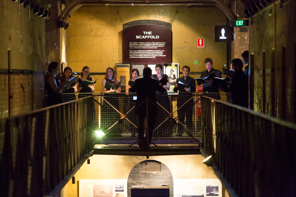 Motets in the Gaol, at the Old Melbourne Gaol