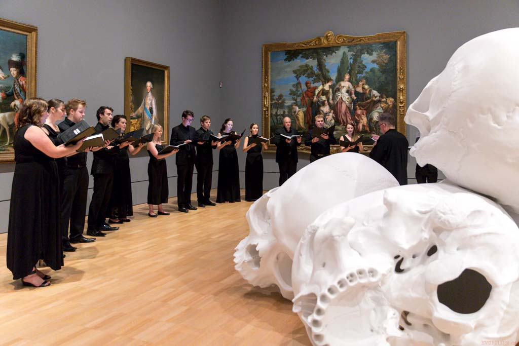 PV singing at National Gallery of Victoria