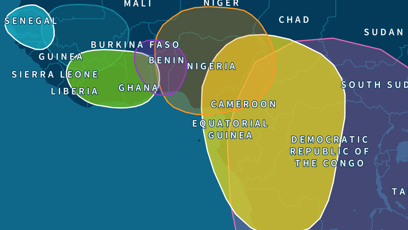 Congo, Cameroon, and Senegal Roots