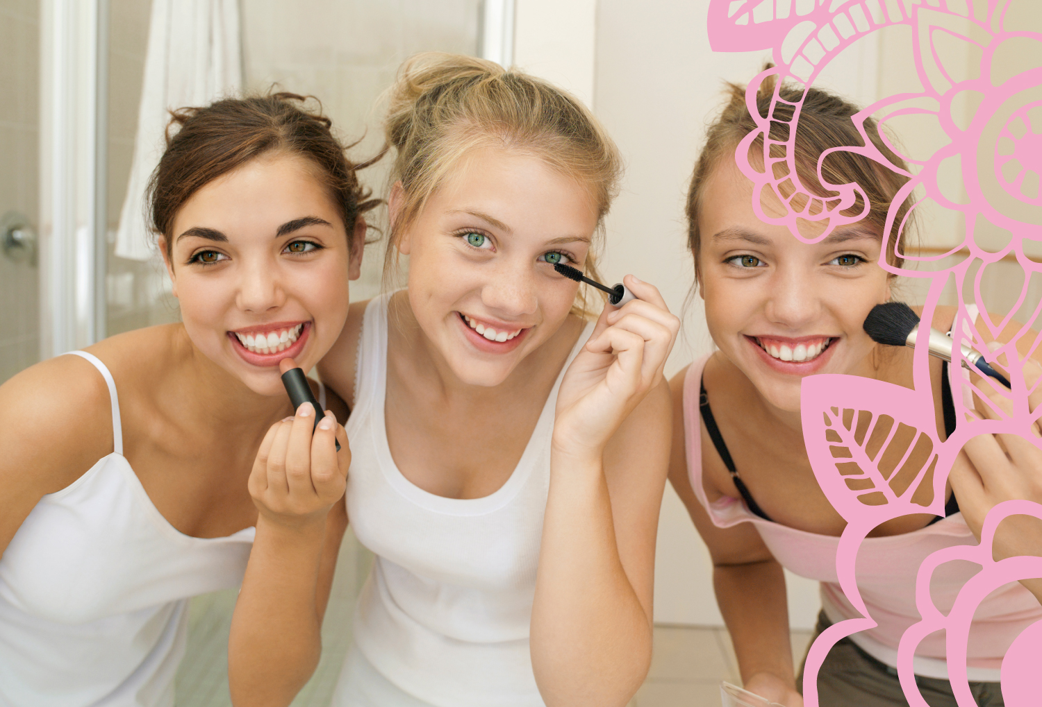 Teens and tween will learn the basics of cosmetics, skin and haircare at our summer camp.