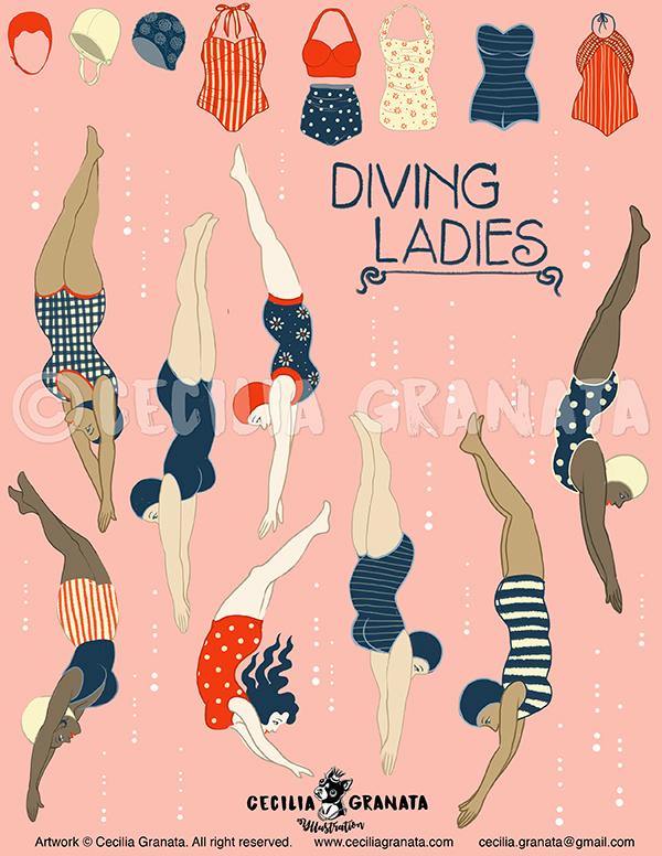 Diving Ladies