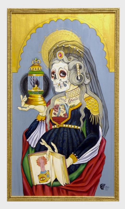 """Sant'Anna"", Acrylic on wood, 2011"