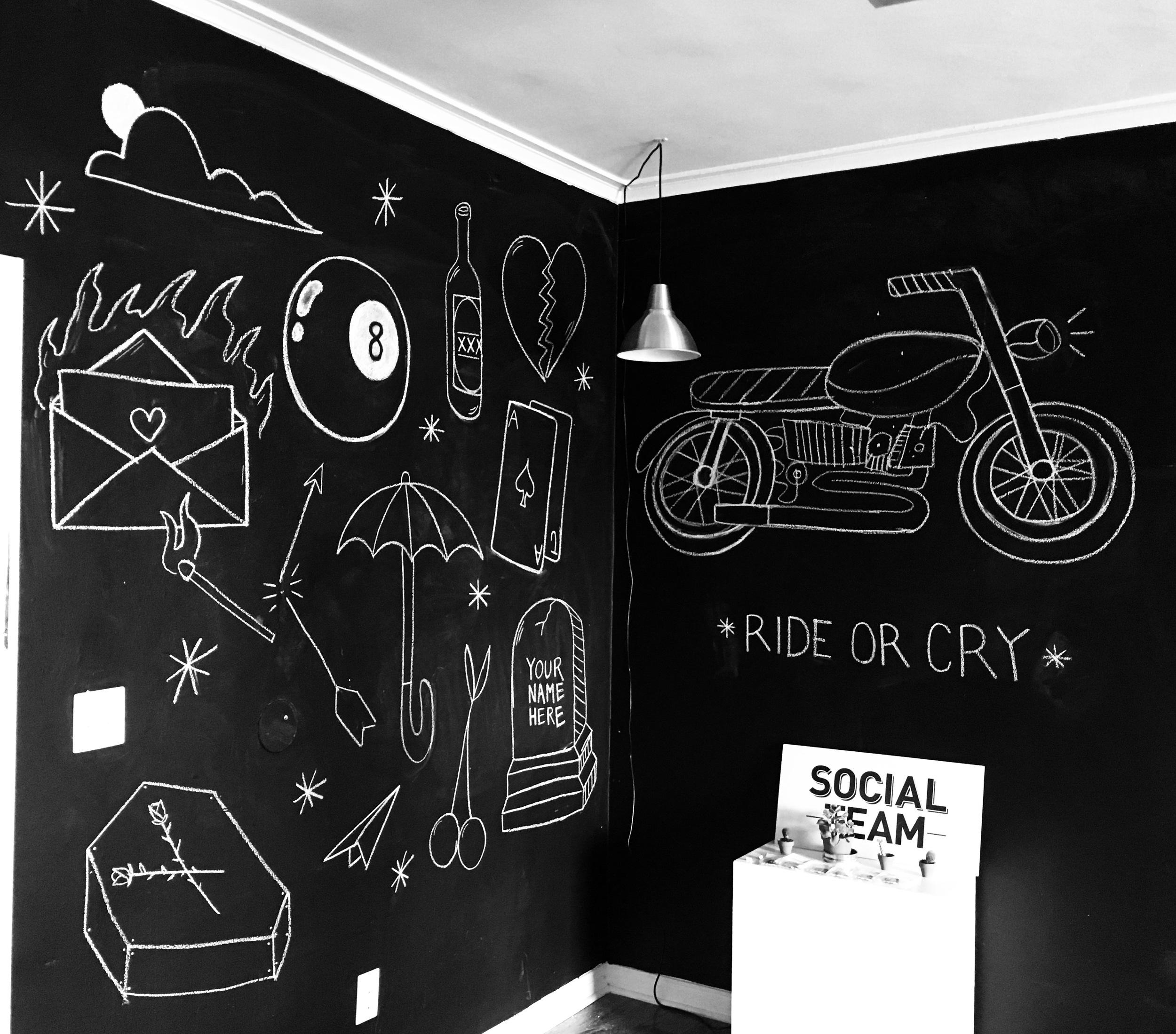 RIDE OR CRY OFFICE