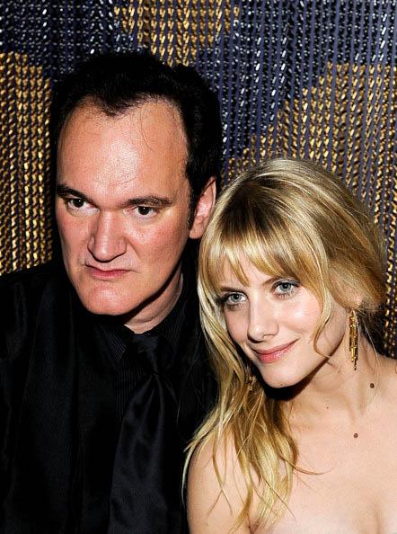Mélanie Laurent & Quentin Tarantino/Golden Globe Awards
