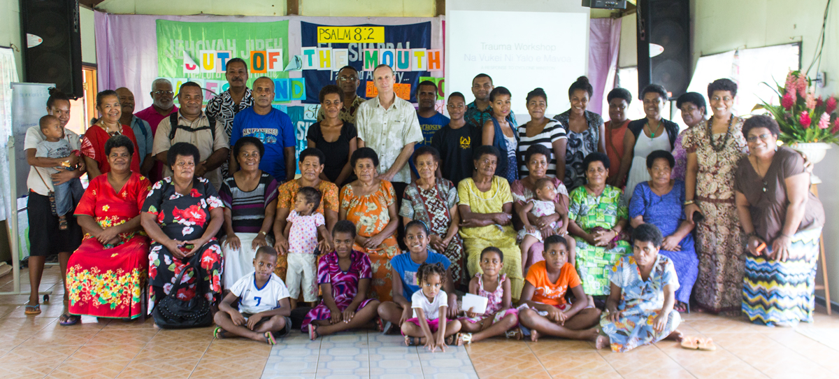 Koro Island participants of the Healing Trauma Workshop