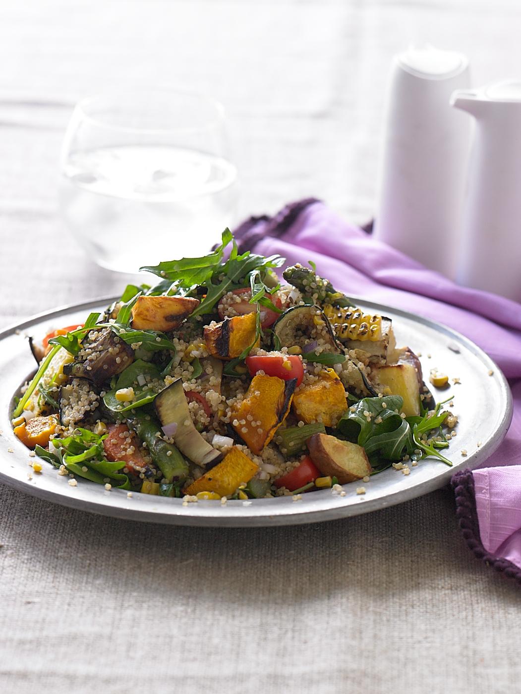 Annalise Braakensiek - Roast vegetable and quinoa salad.jpeg