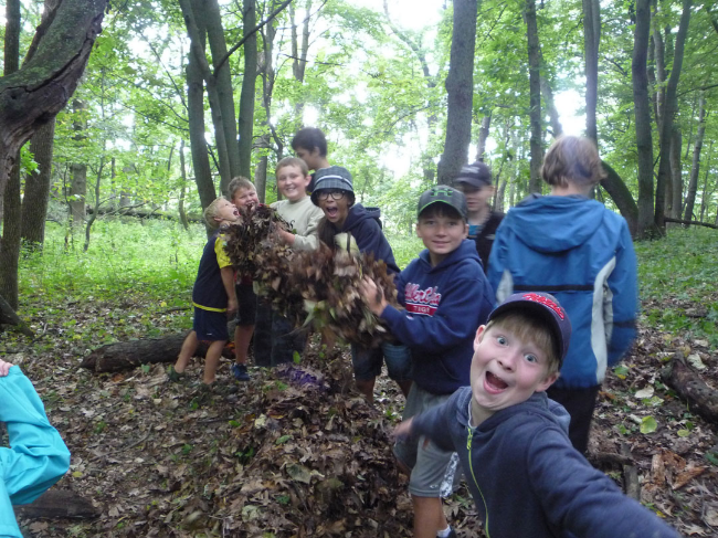 Seekers Wild hosted a wilderness survival and Stealth Camp in Albert Lea the week of August 11th.