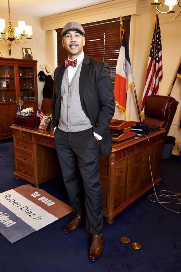 Bronx Borough President, Ruben Diaz Jr. |TODD MAISEL/NEW YORK DAILY NEWS