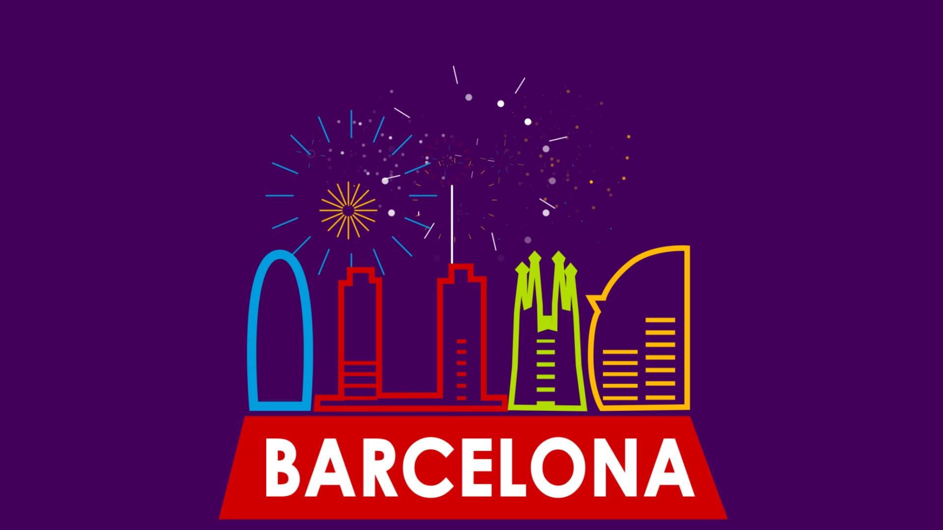 Barcelona Sant Joan Animation