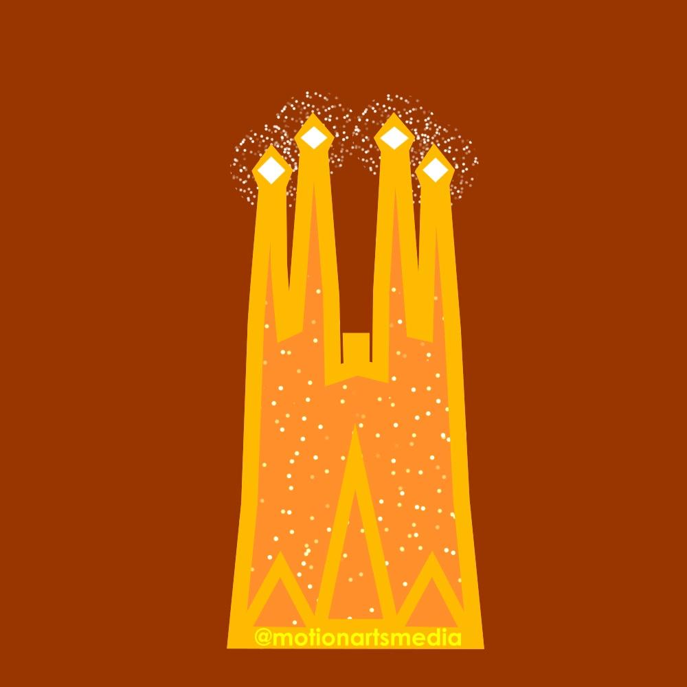 Sagrad Familia Icon Design
