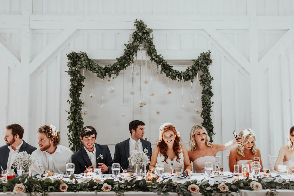 Sunday Brunch Wedding in Tulsa :  Abby Roses