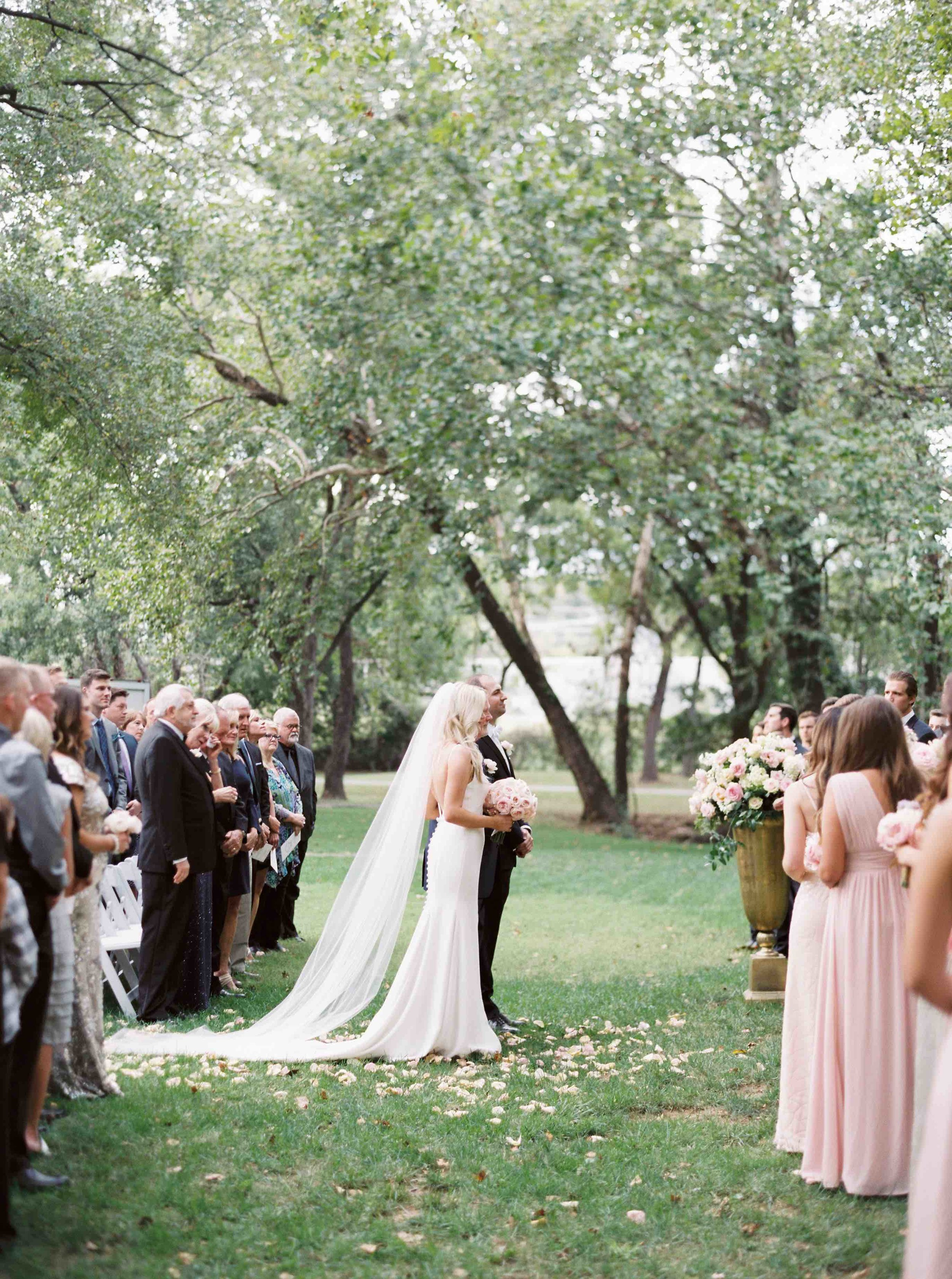 North Courtyard Ceremony