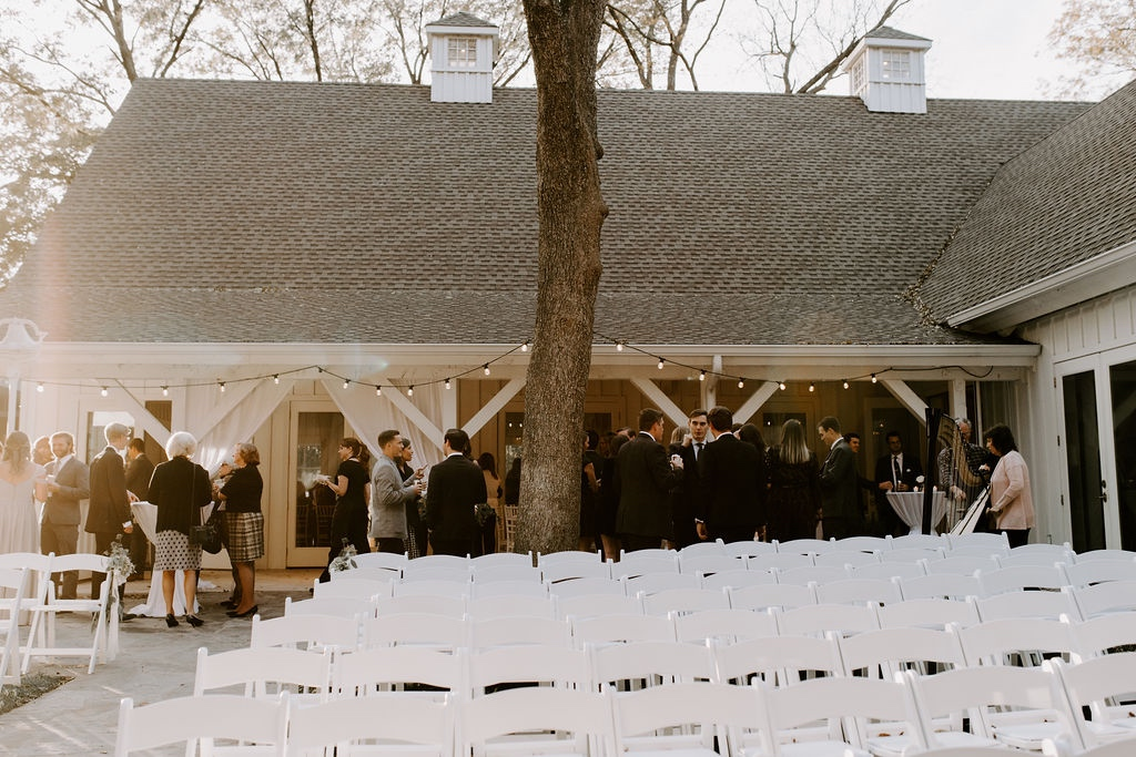 Courtyard Ceremony Set-Up