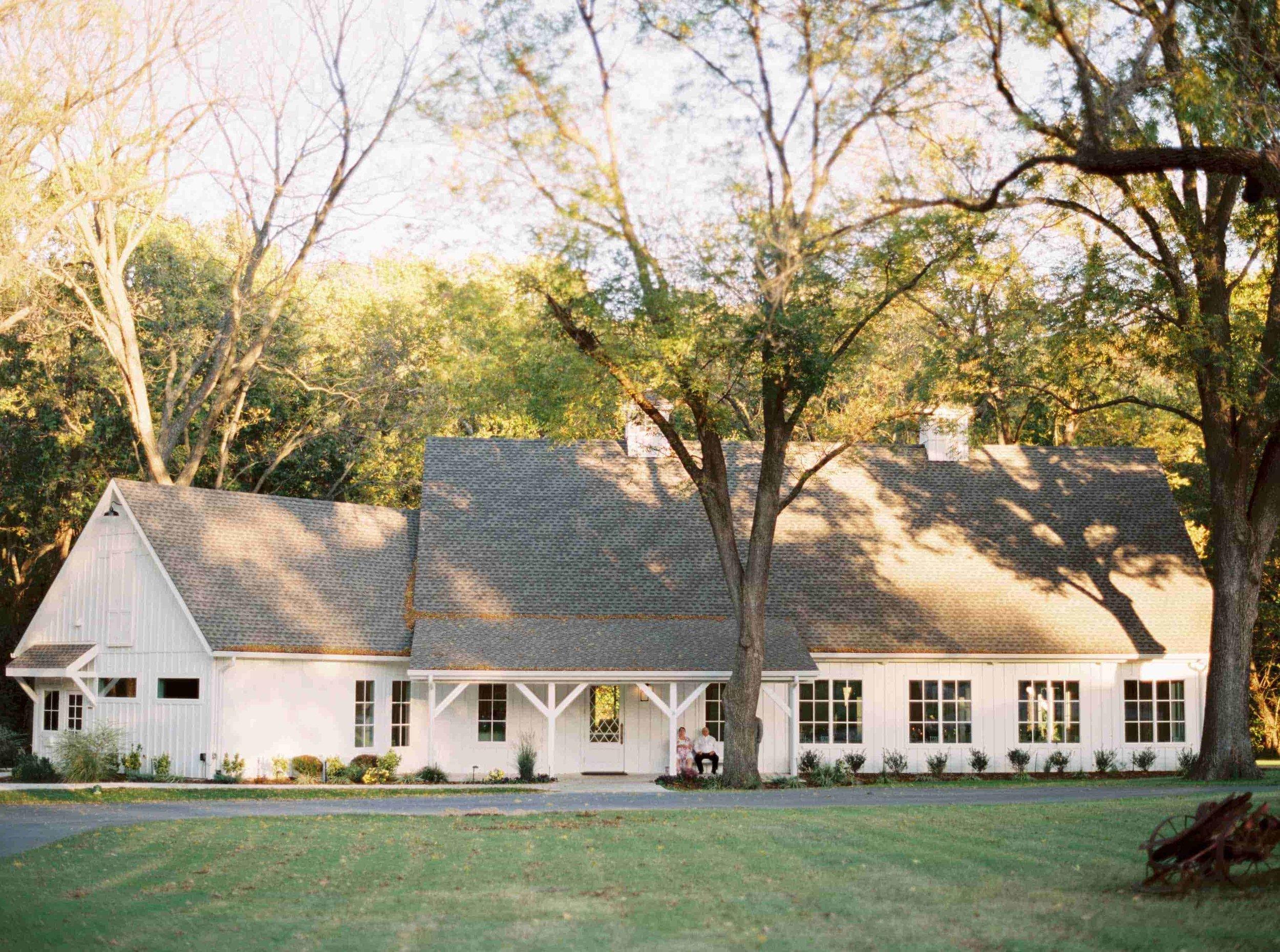 White Barn in October
