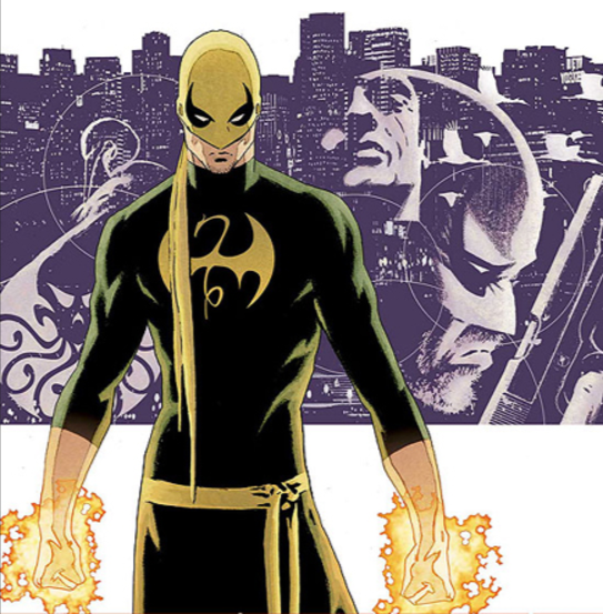 Iron Fist art by David Aja, from the Fraction/Brubaker comic book run.