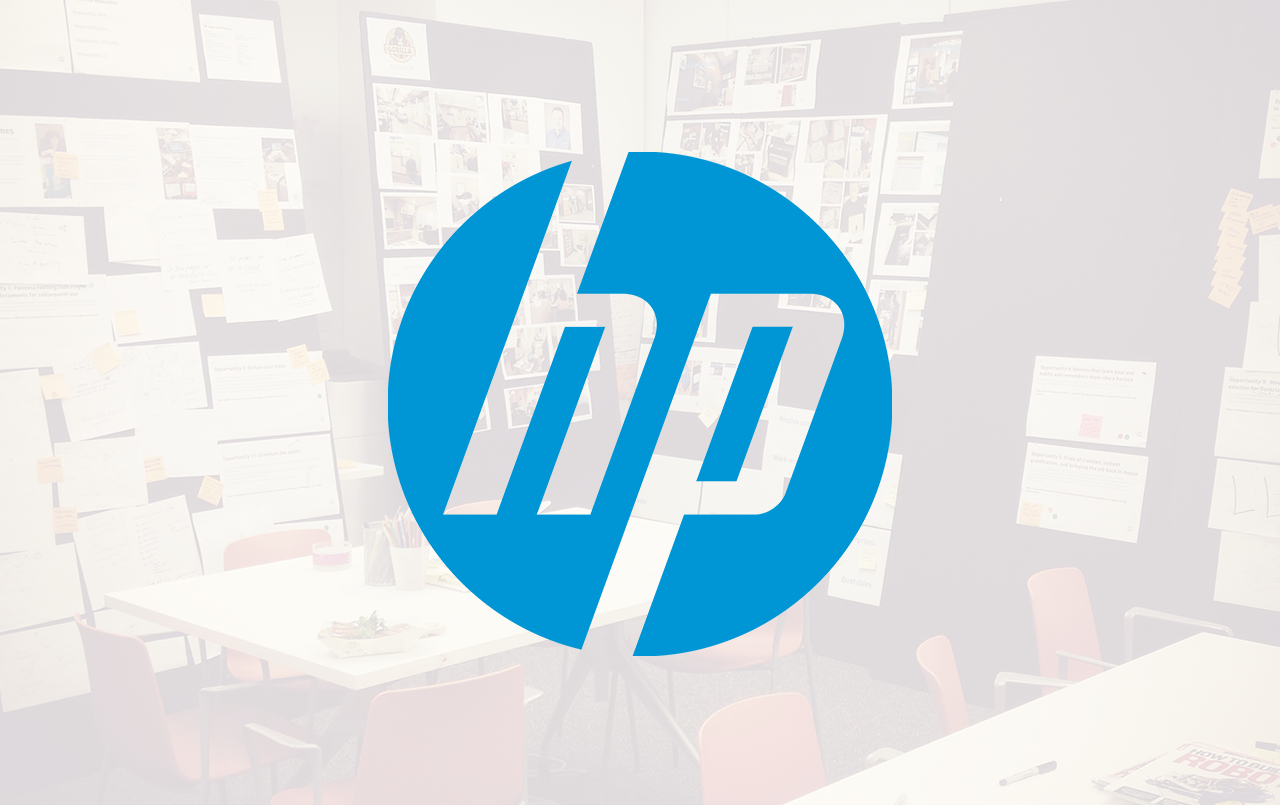 HP Printer UX/UI Design - Introducing a tablet-size, touchscreen interface to the enterprise office printere. View Work