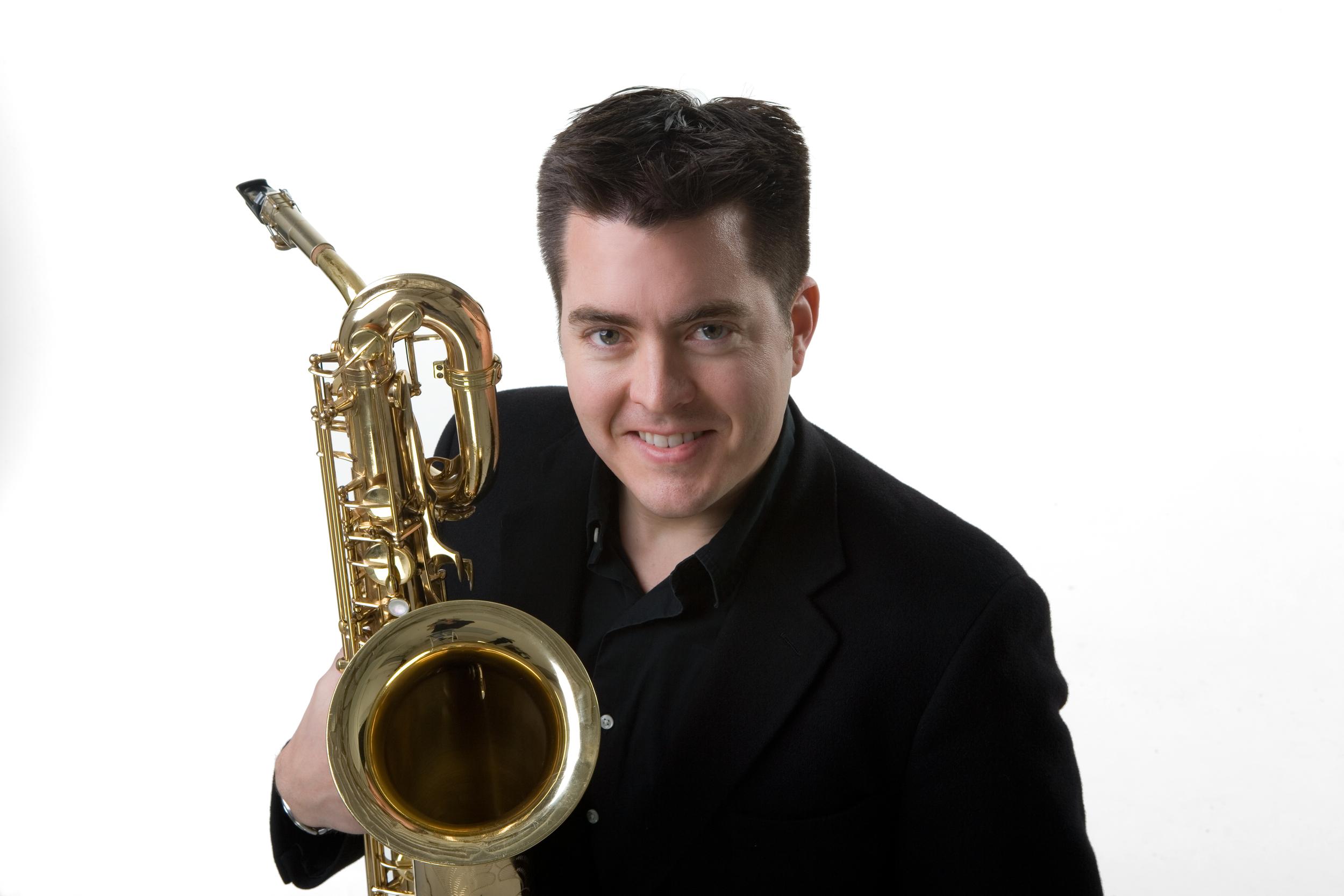 Aaron Lington ,Coordinator of Jazz Studies San Jose State University, Director of the San Jose Jazz High School All-Stars, faculty member of the Texas Musical Festival Jazz Institute