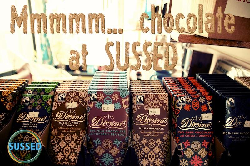 Divine Fairtrade chocolate