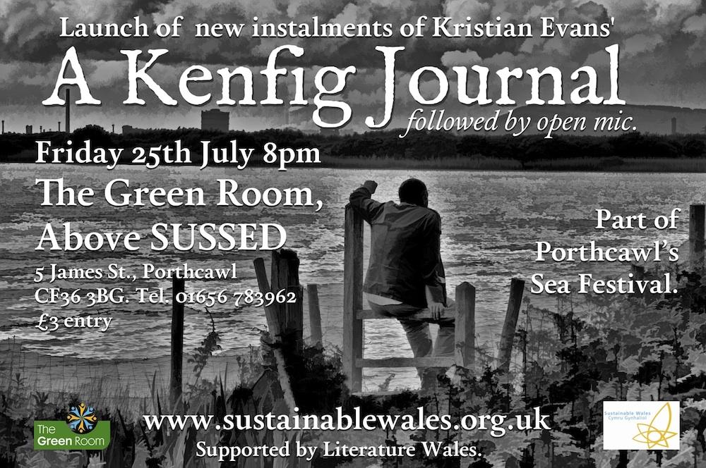 Kenfig Journal event poster