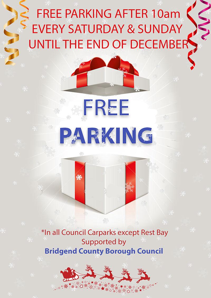 Bridgend area parking promotion