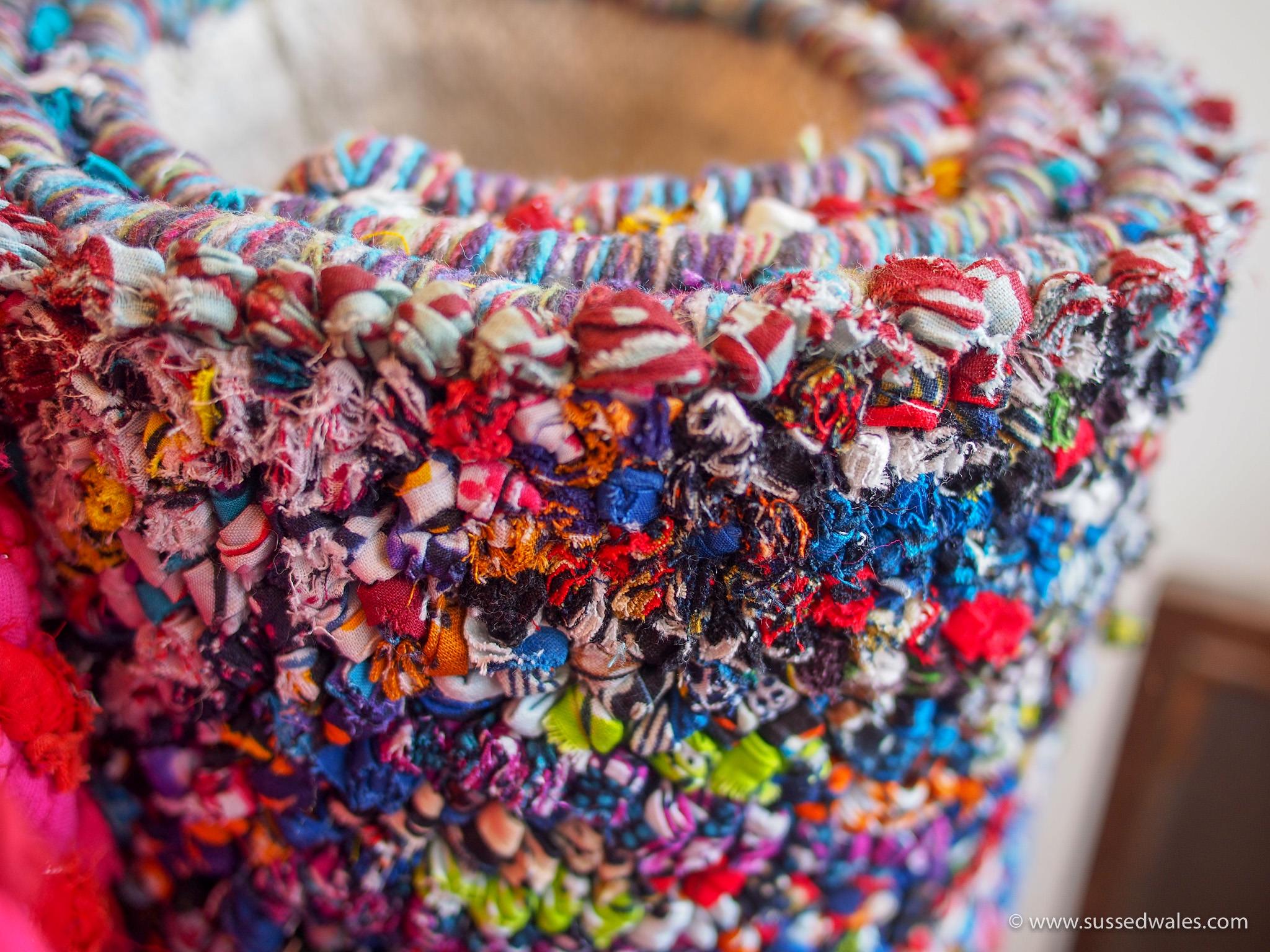 Handmade fairtrade rugs