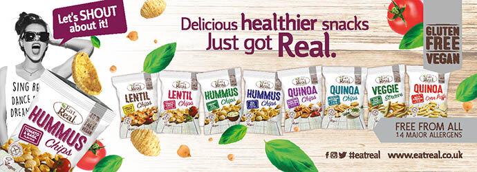 Healthier snacks…