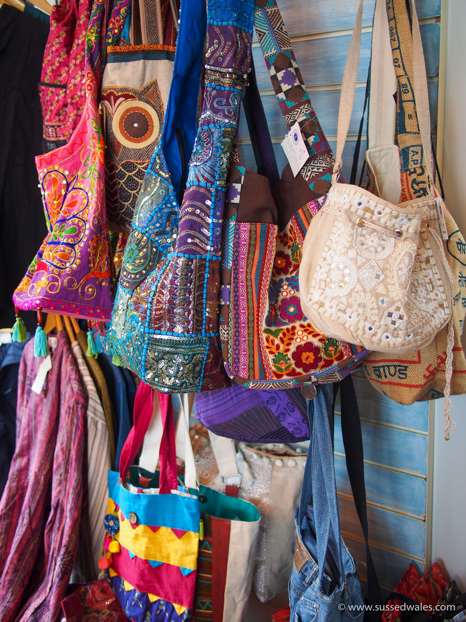 Bags from across the world