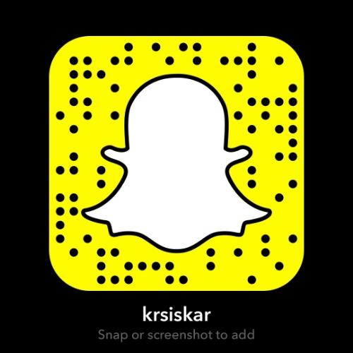 Follow Kevin Siskar on Snapchat