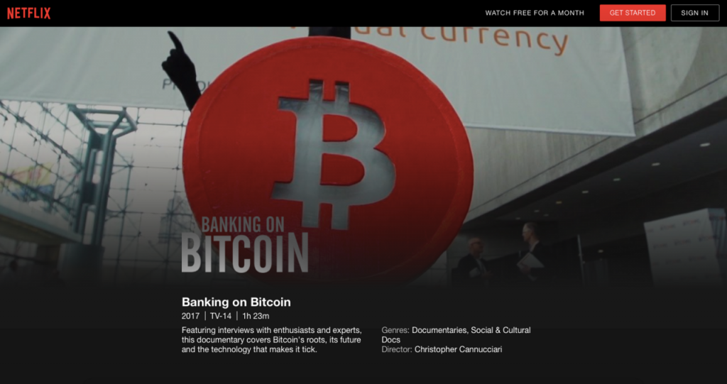 Watch Banking On Bitcoin on Netflix