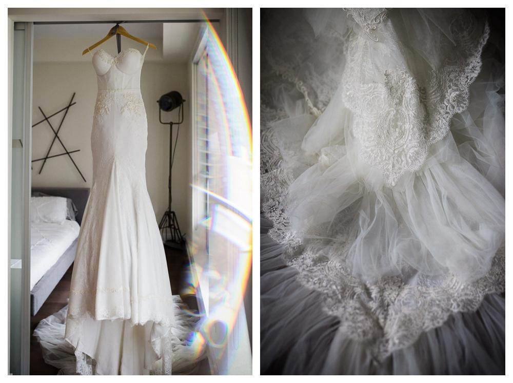 White Toronto, luxe, modern, wedding, wedding dress, Gardiner Museum, 99 Sudbury, Ashley Lindzon, Inbal Dror