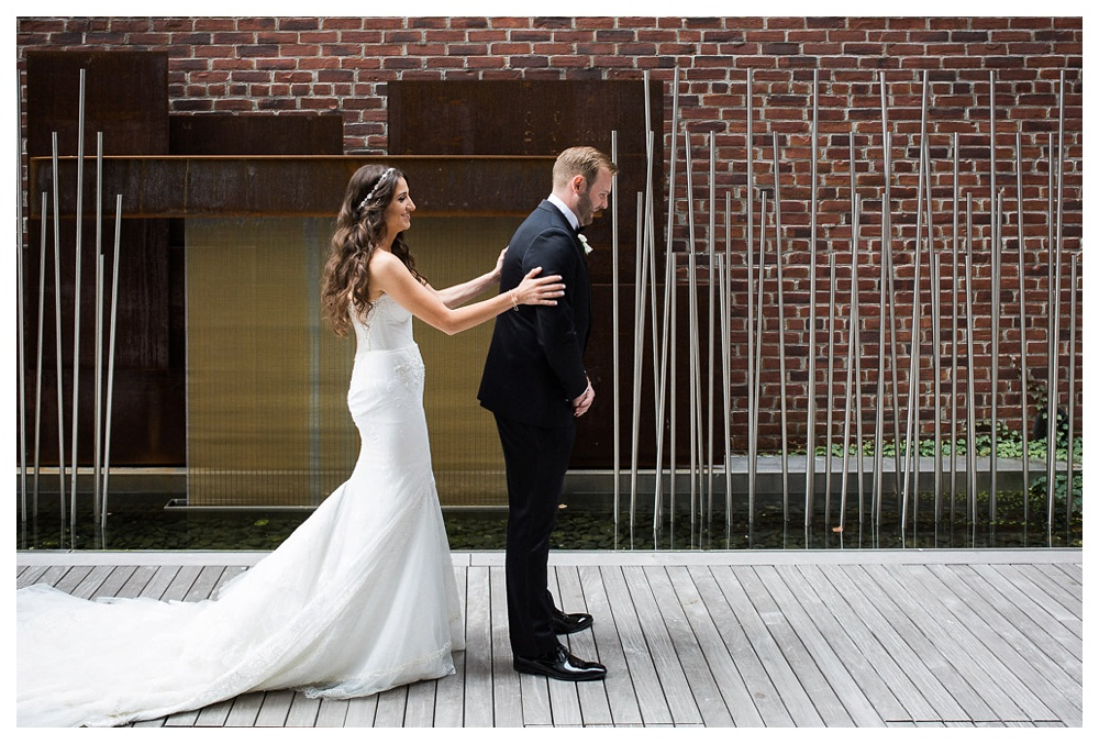 White Toronto, luxe, wedding, wedding dress, Gardiner Museum, 99 Sudbury, Ashley Lindzon, couple, modern, bride and groom, Inbal Dror, Indochino, wedding day