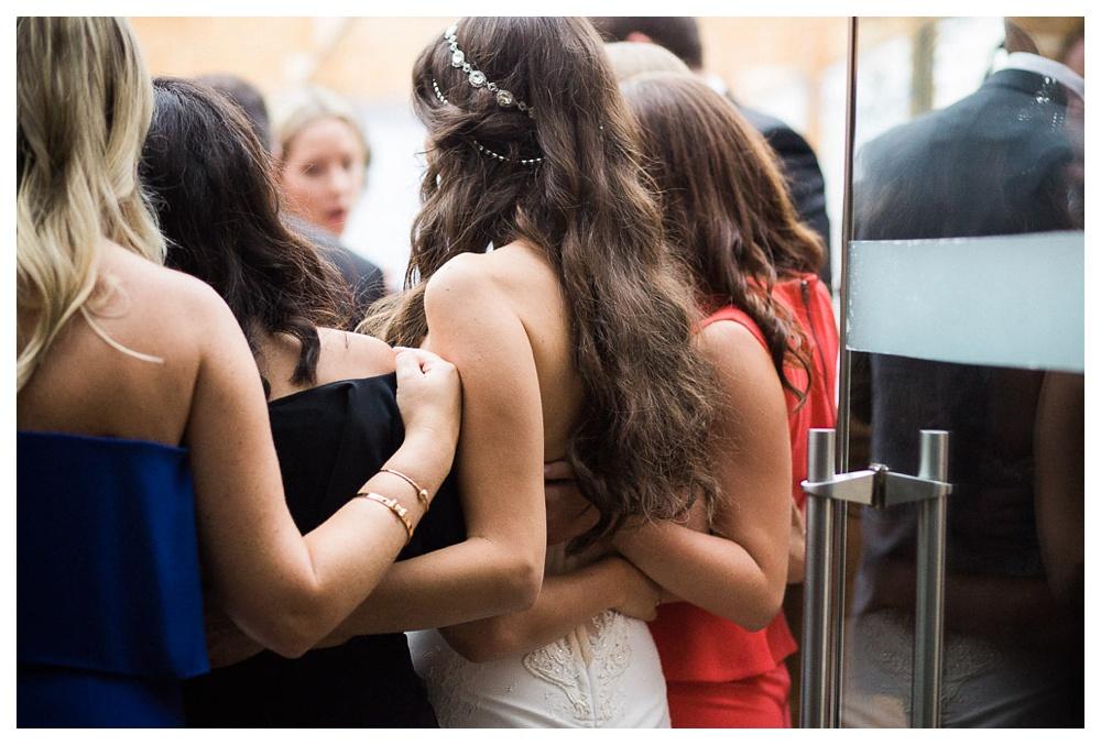 White Toronto, luxe, wedding, wedding dress, Gardiner Museum, 99 Sudbury, Ashley Lindzon, bride, J Locale, friendship, reception,