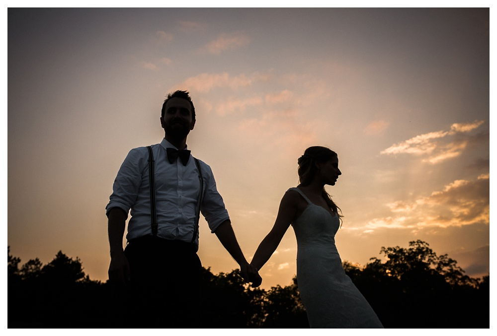 Ravine Winery, wedding, romantic, sunset, couple, love, bride and groom, bowties, summer, reception