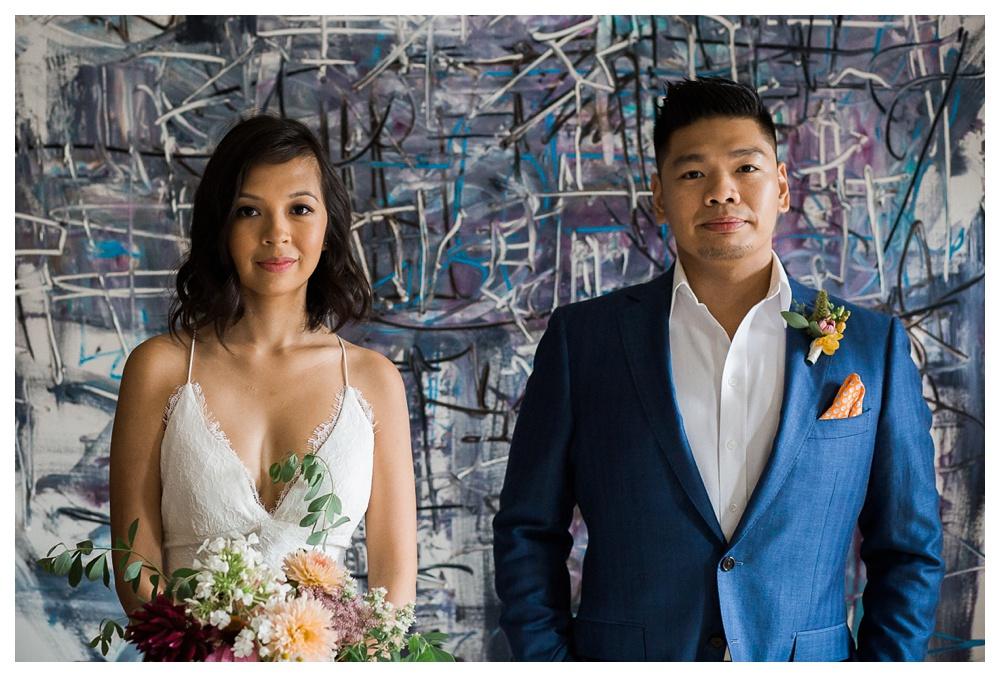 30-DanijelaWeddings-Toronto-wedding-GeorgeRestaurant-couple-art.JPG