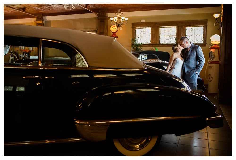 38-DanijelaWeddings-wedding-London-couple-vintagecar-vintagecadillac-kiss.JPG