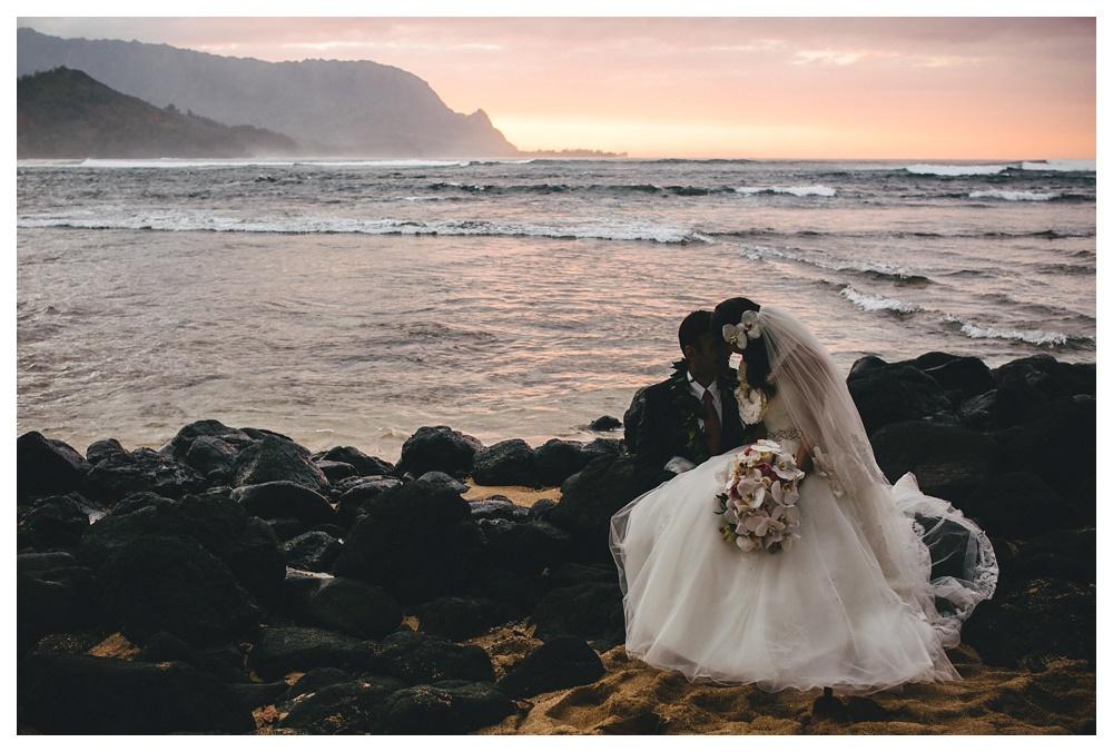 17-DanijelaWeddings-Hawaii-Kauai-wedding-SaintRegis-beach-sunset.JPG