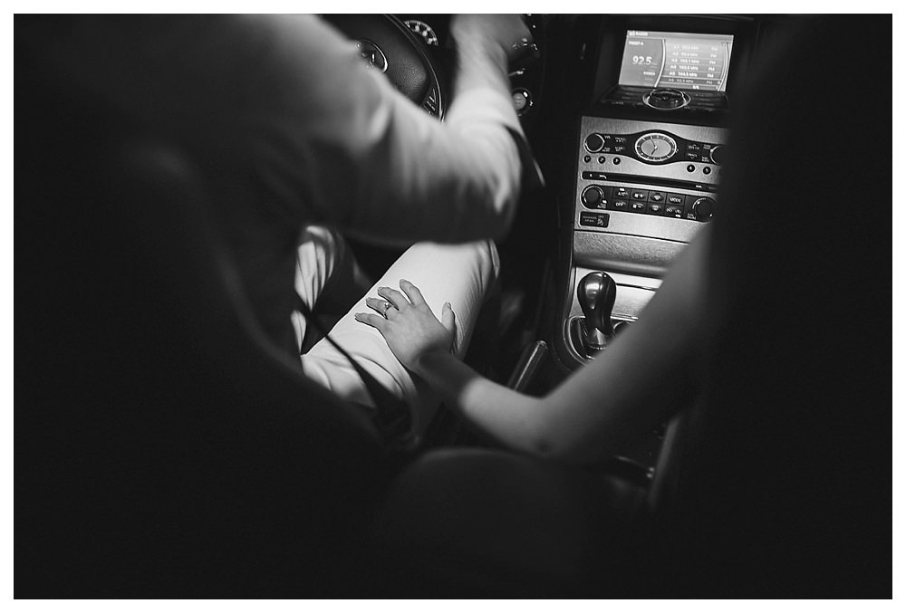 We drive forward to go on our date and capture the love that is there.