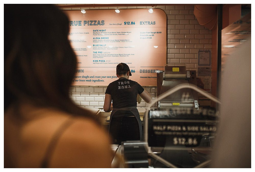 True True Pizza serves delicious pizza in downtown Toronto and love.