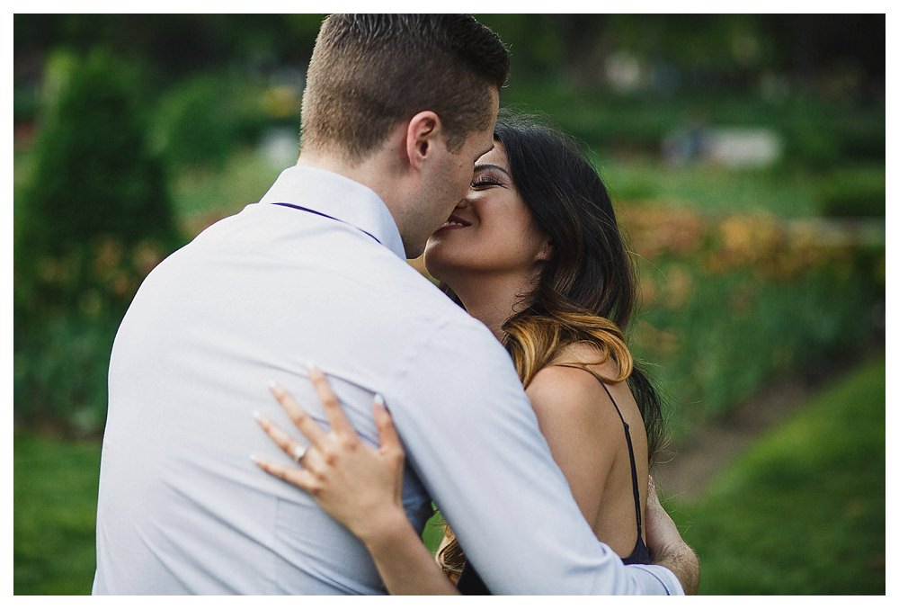 As the flowers in the parks of Toronto bloom so does the feeling of love on this engagement photo day.