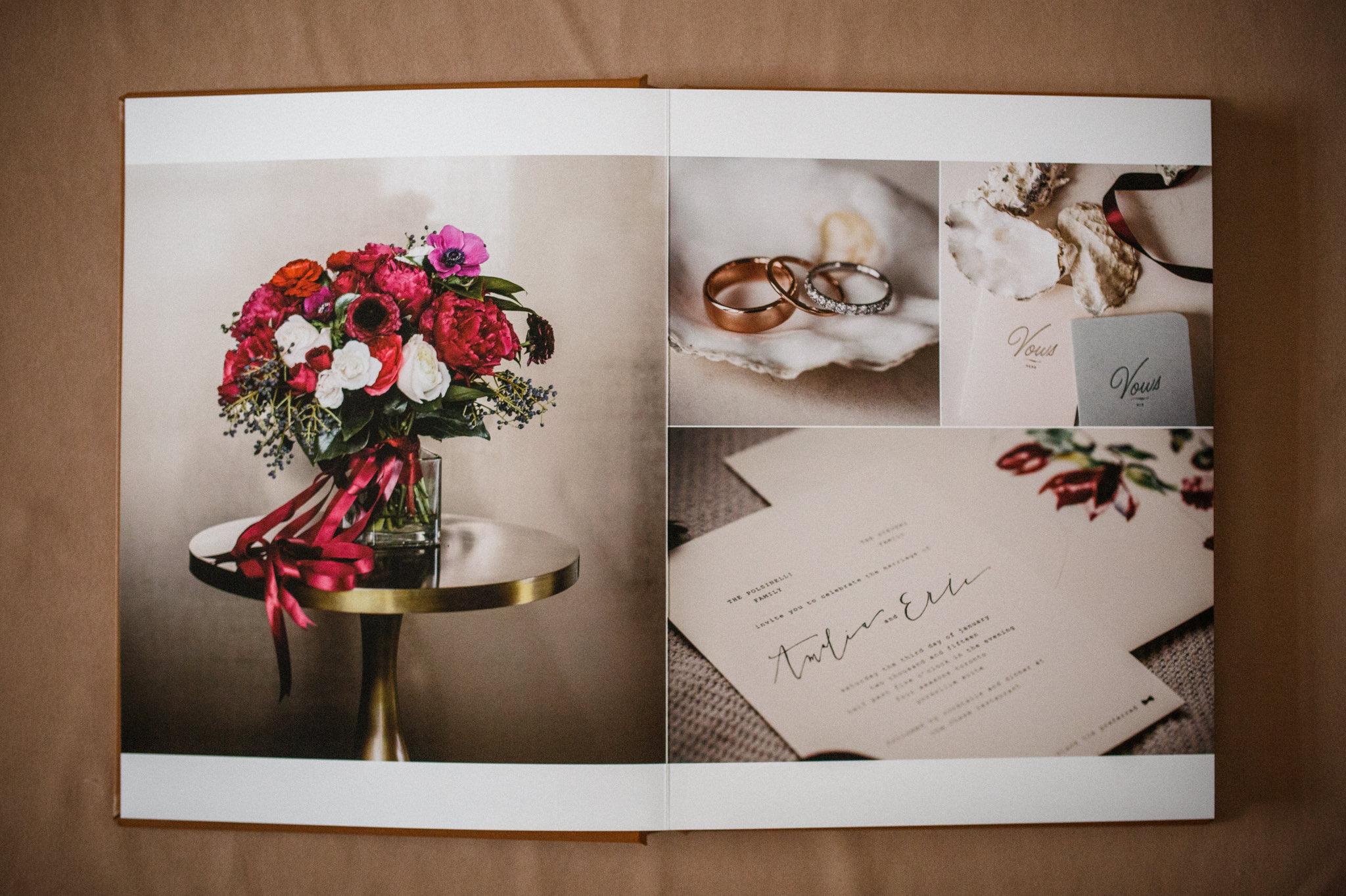 Four Seasons Toronto wedding album.