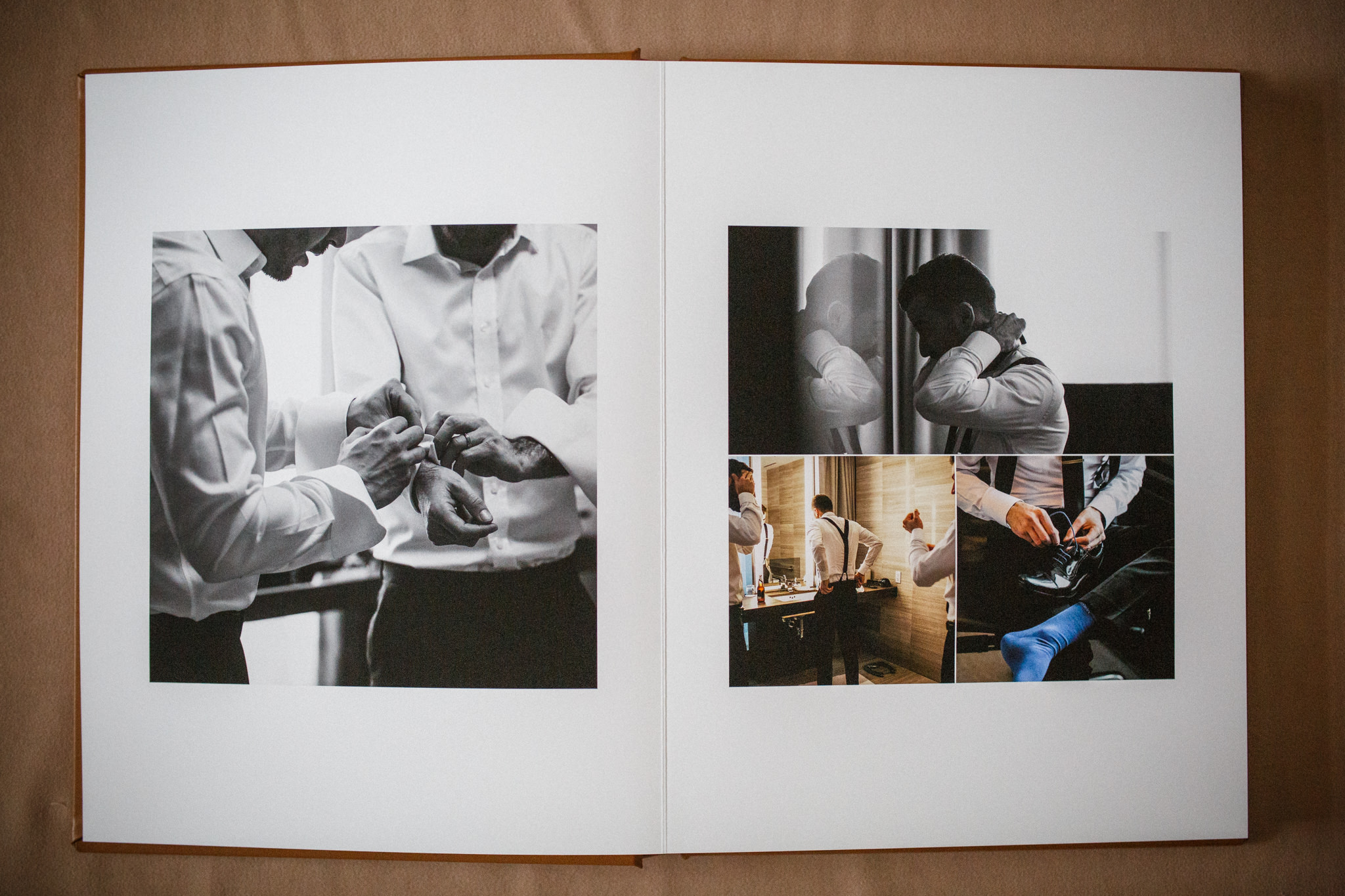 The Chase Toronto wedding photo album.
