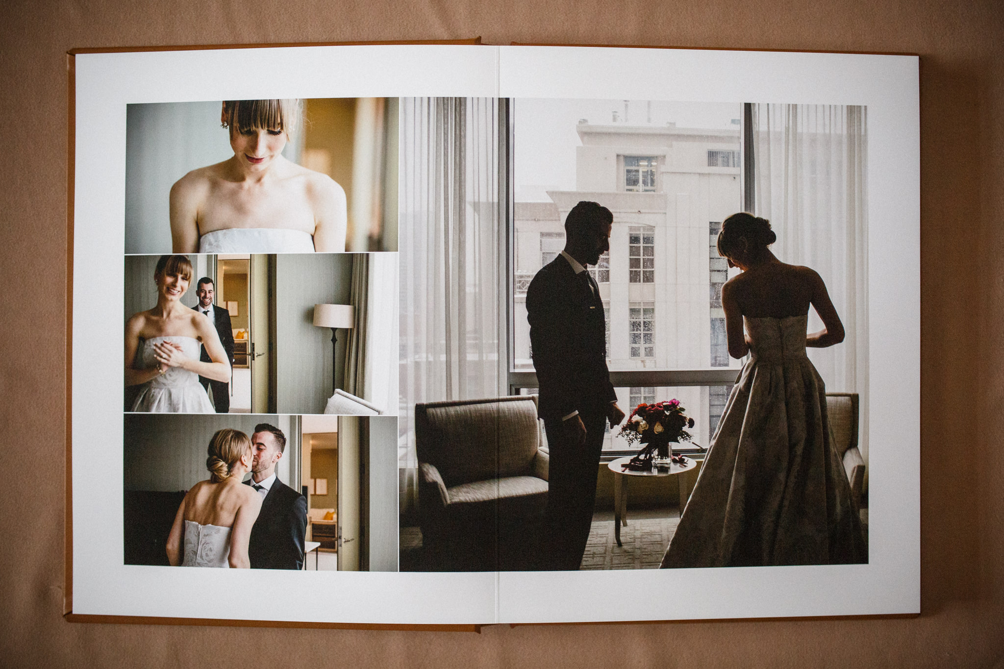 Couples first look at Four Seasons Toronto.