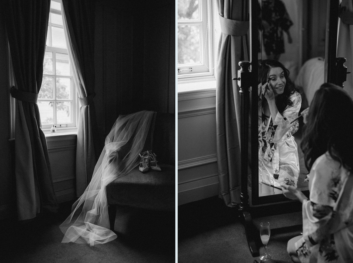 Berta wedding dress at Windsor Arms wedding Toronto.