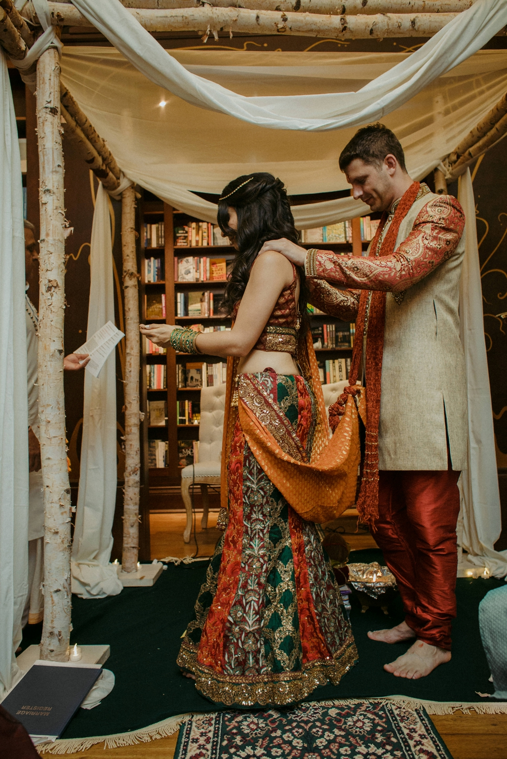 DanijelaWeddings-Toronto-wedding-photographer-BenMcnally-bookstore-Indian-sunset-unique-019.JPG
