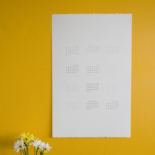 Letterpress 2010 Calendar