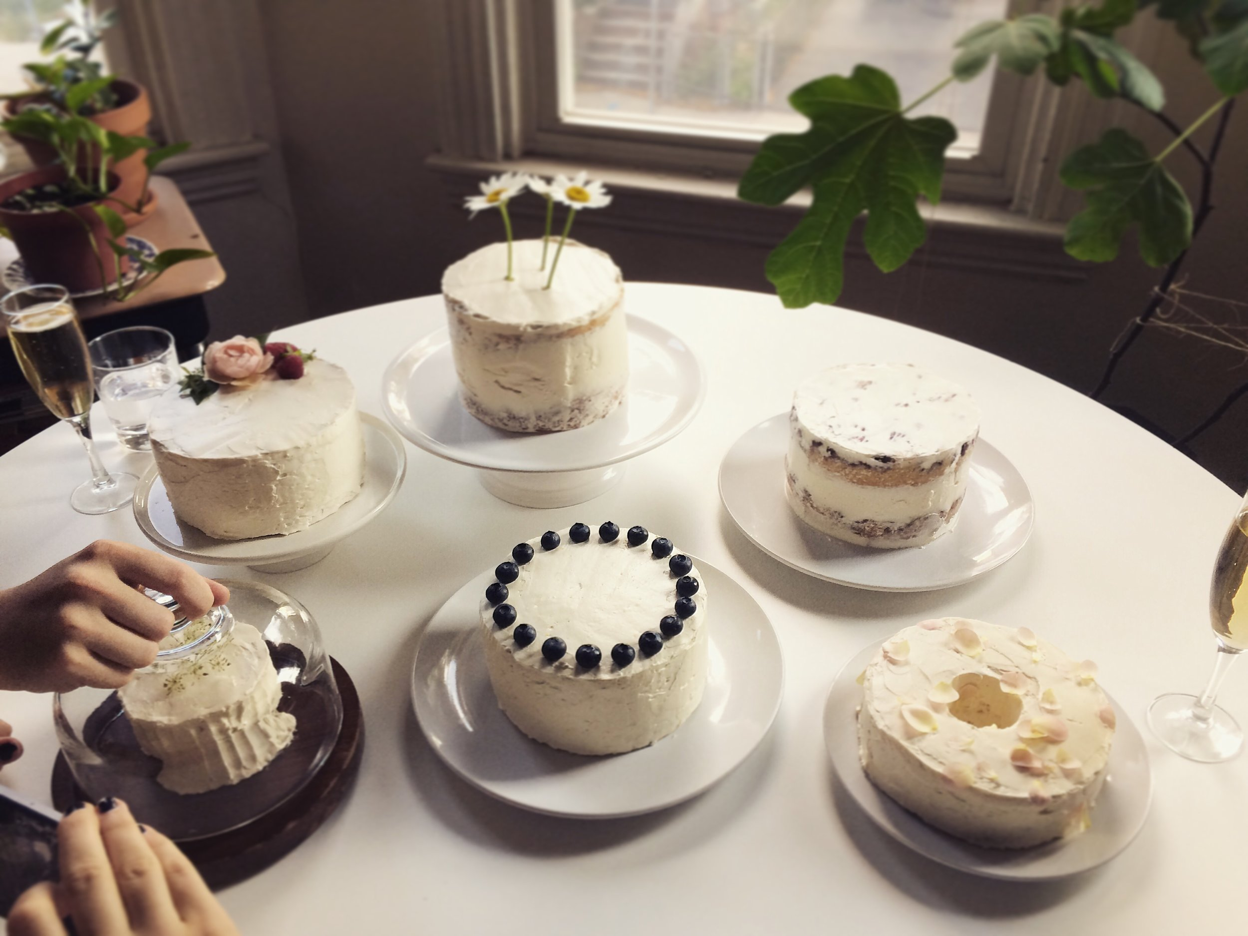 6-inch Cakes for Wedding Cake Tasting