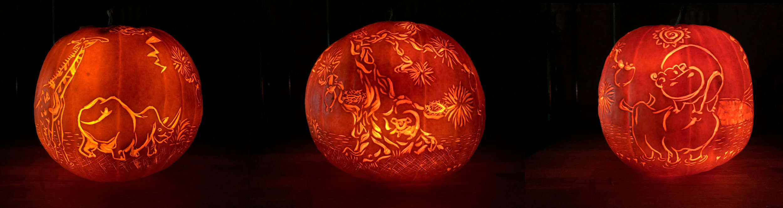 The Lion King Pumpkin Carving