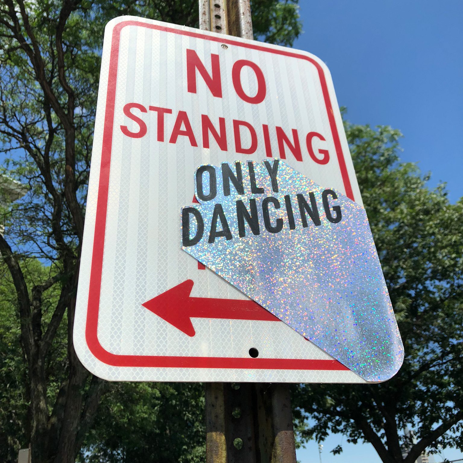 Only Dancing Sticker