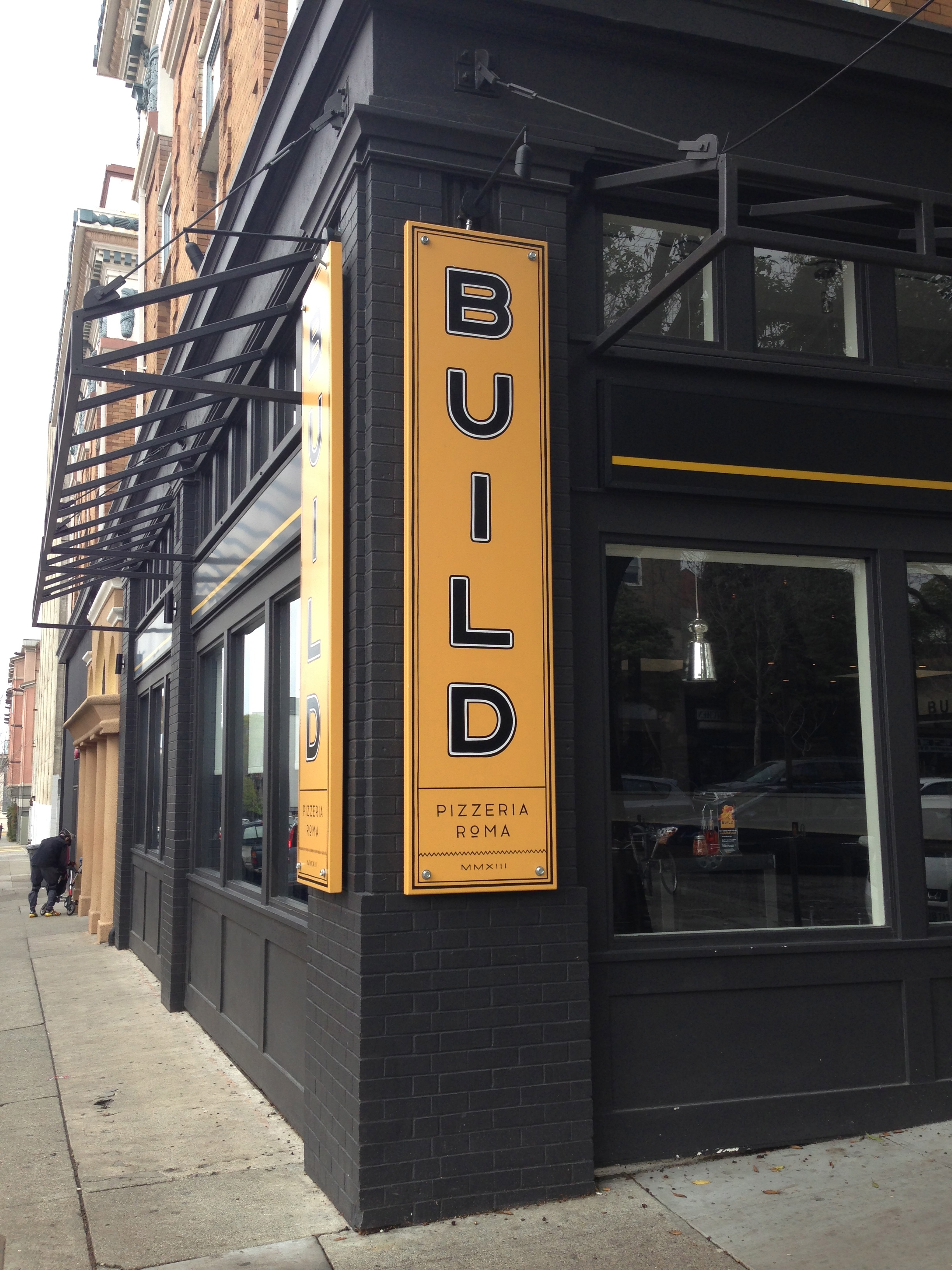 The exterior of BUILD